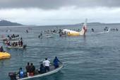 Có 4 công dân VN trong vụ máy bay lao xuống biển ở Micronesia
