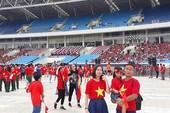 Olympic Việt Nam thay đổi lộ trình, đã về tới Mỹ Đình