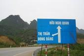 Thủ tướng nhất trí chủ trương xây cao tốc Cao Bằng-Lạng Sơn