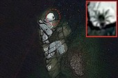 Ảnh vệ tinh phát hiện nhện chín chân to bằng xe buýt?