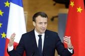 Tổng thống Pháp chật vật học tiếng Trung Quốc