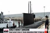 Hàn Quốc nhận 'tân binh' trị tàu ngầm Triều Tiên