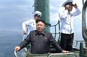 Tàu ngầm Triều Tiên bất ngờ đi vào biển quốc tế