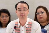 Ngoại trưởng Philippines: Không từ bỏ lãnh thổ cho TQ