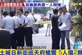 Xả súng đẫm máu tại Đài Loan