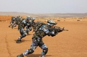 TQ tập trận bắn đạn thật lần đầu tại căn cứ châu Phi