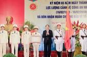 Chủ tịch nước dự kỷ niệm 65 năm lực lượng cảnh vệ CAND