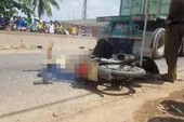 TP.HCM: Va chạm xe container, 2 phụ nữ chết thảm
