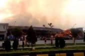 800 người Việt và Trung Quốc cứu cháy ở Móng Cái