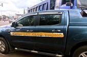 Ô tô CSGT bị tông ở Gia Lai