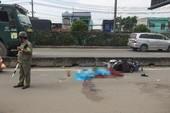Thanh niên chạy xe máy tử vong vì ô tô bung bạt tại quận 12