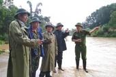 Một thiếu úy công an bị lũ cuốn tử vong ở Quảng Ninh