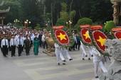 Dâng hương tưởng niệm nhân 71 năm Ngày Thương binh Liệt sĩ