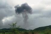 Máy bay quân sự Su-22 rơi ở Nghệ An