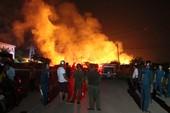 Cháy lớn ở thị xã Tân Uyên, Bình Dương