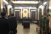 Tòa đang tuyên án đối với đại gia Hứa Thị Phấn