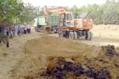 Kết quả ban đầu phân tích mẫu chất thải của Formosa chôn ở trang trại