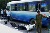 Tử vong khi chạy xe máy từ miền Nam về Nghệ An ăn Tết