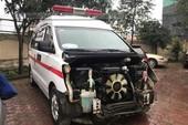 Tạm giữ tài xế xe cứu thương gây tai nạn rồi bỏ trốn