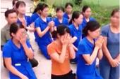 Khiển trách 5 cán bộ trong vụ nhiều cô giáo quỳ gối ở Nghệ An
