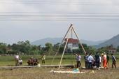 Hiện trường vụ điện giật chết 4 người dựng cột viễn thông