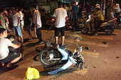 Tai nạn xe máy, 1 thượng tá công an tử vong