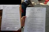 Thầy giáo làm lộ đề thi lớp 10 có thể bị tội gì?