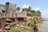 Phát hiện hố xoáy khổng lồ khu vực sạt lở ở Đồng Tháp