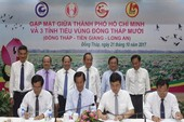 TP.HCM liên kết phát triển tiểu vùng Đồng Tháp Mười