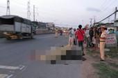 Người đàn ông chết thảm trên quốc lộ 1A