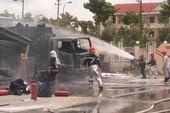 Cháy ở trạm xăng dầu tại Cần Thơ