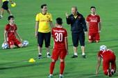 Thầy trò Park Hang-seo đã đến luyện công ở Paju