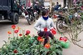 Tiểu thương co ro trong chợ Tết