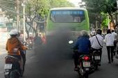 Kiểm tra khí thải của xe tải, xe buýt