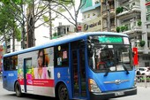 TP.HCM có thêm 21 tuyến xe buýt điểm