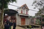 Khởi tố kẻ sát hại vợ và 2 con ở Thanh Hóa