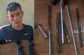 Bắt thanh niên dẫn 20 'đàn em' cầm súng, dao xử đối thủ
