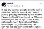Công an Thanh Hóa lên tiếng vụ 'mời dân vì viết facebook'