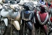 Băng trộm xe máy ở Thanh Hóa sa lưới công an