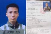 Phạm nhân thụ án chung thân trốn khỏi trại giam