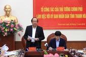 Thủ tướng yêu cầu khắc phục chuyện 'quan lộ thần tốc' xứ Thanh