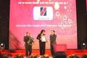 Agribank: Top 10 doanh nghiệp lớn nhất VN năm 2017