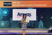 Amway Việt Nam nhận 2 giải thưởng lớn về nhân sự