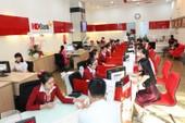 HDBank được mở mới 45 chi nhánh, phòng giao dịch năm 2018