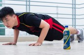 Thức uống bù khoáng cho người vận động nhiều