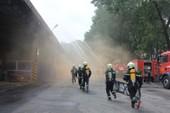 Vedan Việt Nam thực tập chữa cháy, cứu nạn cứu hộ