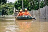 Hà Nội: Mưa lụt khiến 969 hộ dân chưa được cấp điện trở lại