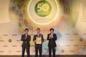 Vietcombank lọt vào top 50 công ty niêm yết hàng đầu Việt Nam