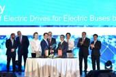 VinFast ký hợp tác với Siemens sản xuất xe buýt điện