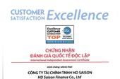 HD SAISON: Chỉ số hài lòng khách hàng đạt chuẩn mực quốc tế  